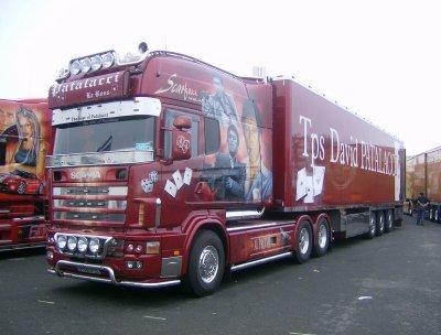 Scania longline v8 580 david morgan patalacci le rems for Interieur scania longline