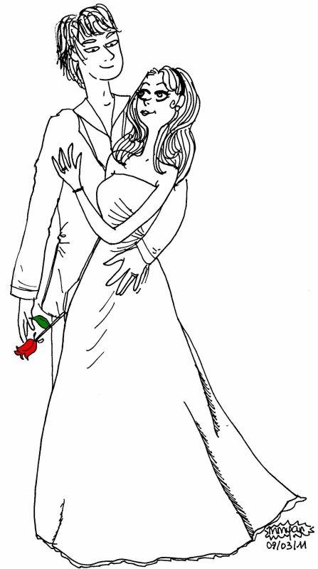 Dessin concours sur le th me de l 39 amour m lie m lo dans - Dessin sur l amour ...
